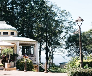 View of Poet's Cafe Maleny from the street