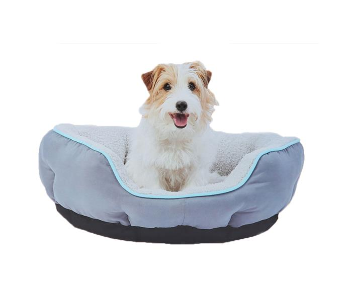 "Heated [pet bed](https://www.kmart.com.au/product/heated-pet-bed/2493348|target=""_blank""