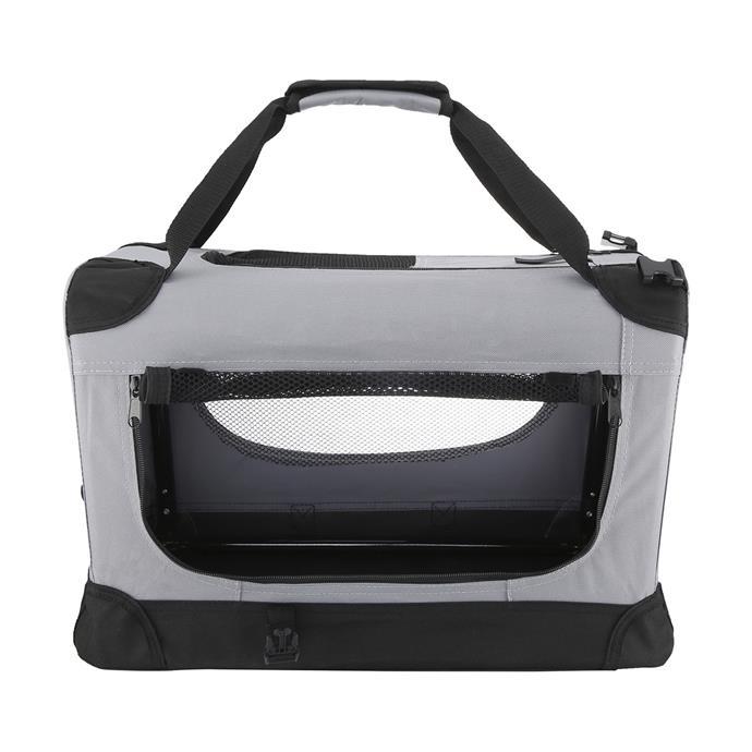 """Foldable [pet carrier](https://www.kmart.com.au/product/foldable-pet-carrier/831475 target=""""_blank"""" rel=""""nofollow""""), $25."""