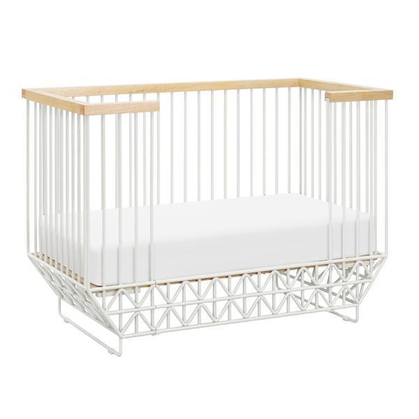"Ubabub Mod Cot, $1199, [Norsu Interiors](https://norsu.com.au/collections/carrie-bickmores-nursery/products/ubabub-mod-cot|target=""_blank""