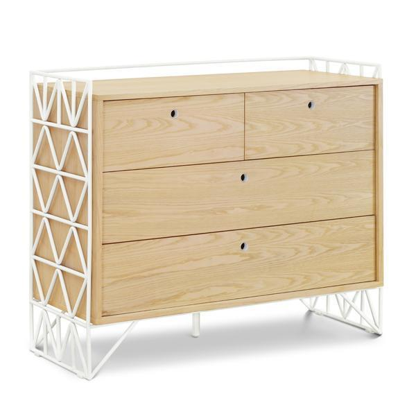 "Ubabub Mod Dresser, $1499, [Norsu Interiors](https://norsu.com.au/collections/carrie-bickmores-nursery/products/ubabub-mod-dresser|target=""_blank""