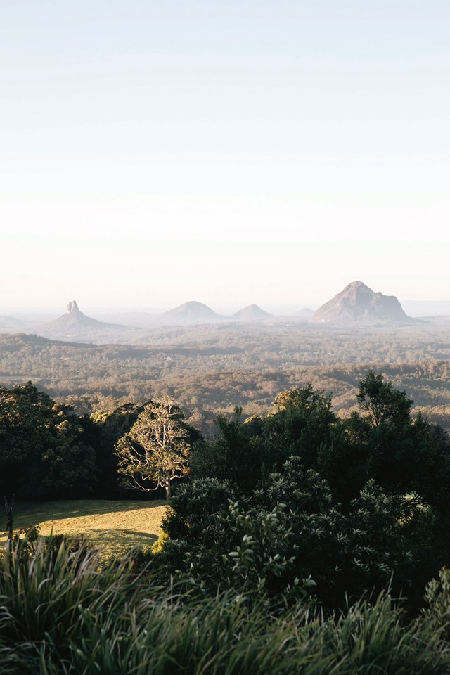 """**SUNSHINE COAST HINTERLAND, QLD**<br>  <br>A short drive from the [Sunshine Coast lies villages of Maleny](https://www.homestolove.com.au/maleny-qld-things-to-do-14012