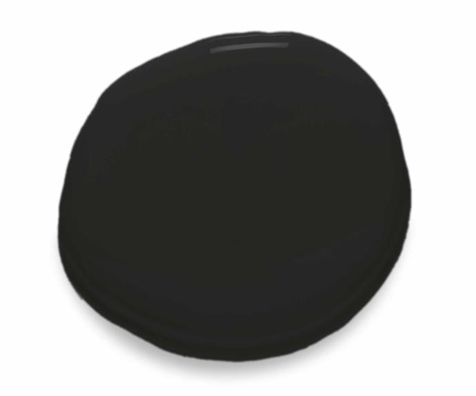 "Colour Natural Limewash interior paint in Onyx, $120 for 4L, [Bauwerk](https://www.bauwerk.com.au/ target=""_blank"" Rel=""nofollow"")."