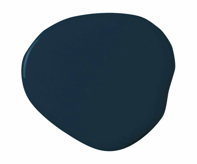 "Matte Finish interior paint in Classic Navy, $55.50 for a quart (946ml), [Jolie Home](https://joliehome.com/|target=""_blank""