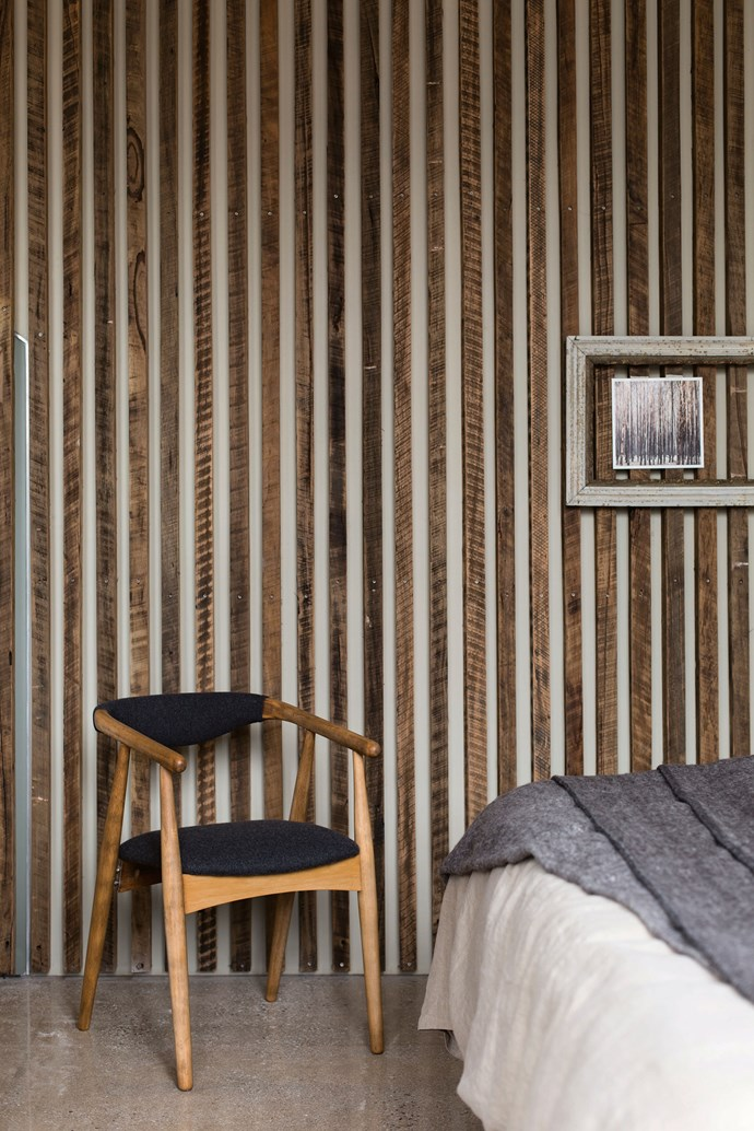 This Drift House suite makes the most of recycled natural materials.