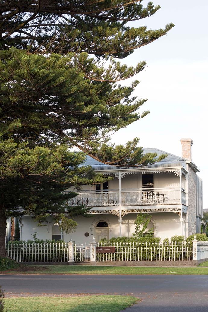 The facade of Drift House.