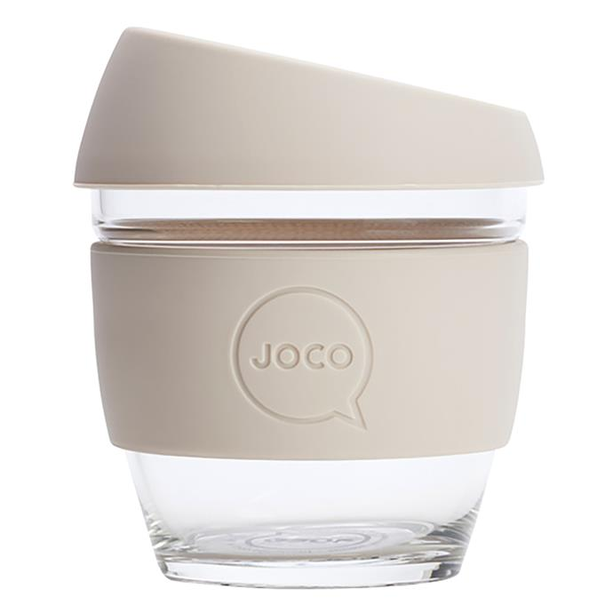 "Help the environment and give your Mum a gift she will use everyday with this **Joco Reusable Cup**, $23.95, from [Zanui](https://www.zanui.com.au/Joco-Reusable-Cup-162013.html|target=""_blank""