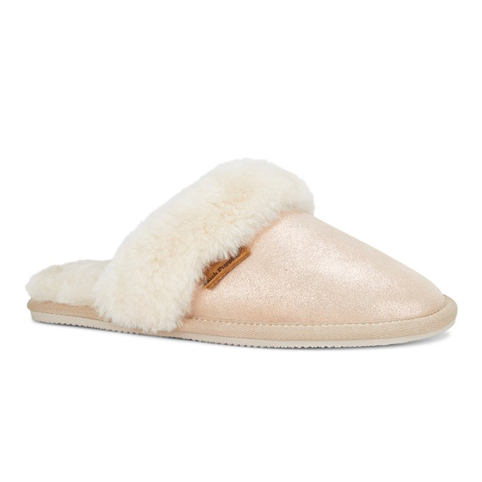 "As winter approaches, a pair of comfy slippers is a must! Gift mum these **'Comfy' Slippers** in Rose Gold, $79.95, from  [Hush Puppies](https://hushpuppies.com.au/womens/shop-all-womens/slippers/comfy-rose-gold|target=""_blank""