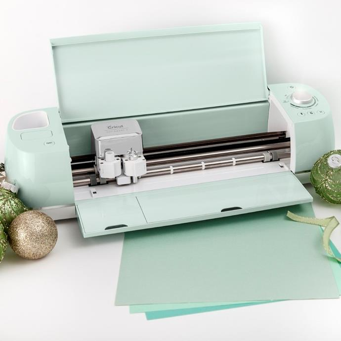 "Take Mum's scrapbooking game to the next level with the Cricut Explore Air 2 Machine, $450, from [Spotlight](https://www.spotlightstores.com/craft-hobbies/paper-craft/cricut-explore-air-2-mint-machine/BP80421849|target=""_blank""
