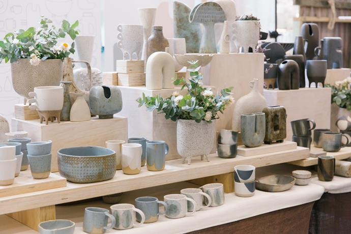 Clay Canoe are hot favourite and for good reason. Their Japanese-inspired ceramics embrace a Wabi Sab approach to design, meaning no two pieces are the same.