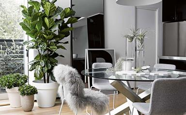 An industrial warehouse apartment with a Scandi-style twist