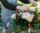 How to make a seasonal Mother's Day posy