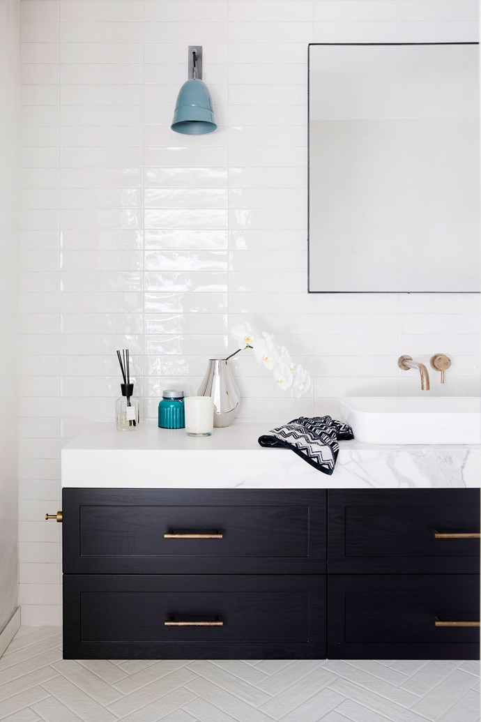 Replacing bathroom fixtures, such as the vanity and tapware, can make a big difference to the look of a bathroom. *Photo: Martina Gemmola / bauersyndication.com.au*