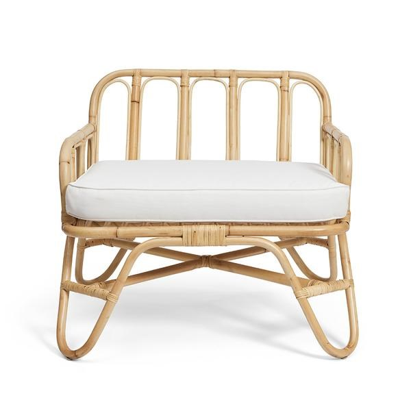 """Cane Weave Bend Armchair, $699, [Harpers Project](https://www.harpersproject.com/collections/armchairs/products/cane-weave-bend-armchair
