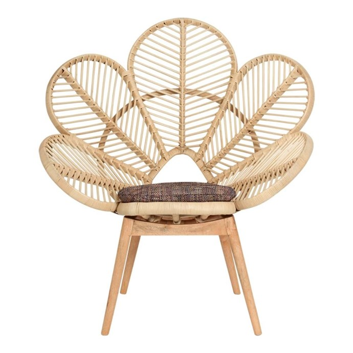 """Love Chair in Natural, $495, [Family Love Tree](https://www.thefamilylovetree.com.au/love-chair-natural