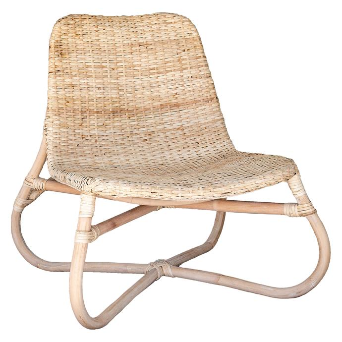 "Playa Occasional Chair, $314, [Zanui](https://www.zanui.com.au/Playa-Occasional-Chair-165669.html|target=""_blank""