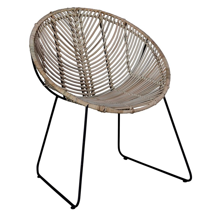 "Coronado Rattan Occasional Chair, $334, [Zanui](https://www.zanui.com.au/Coronado-Rattan-Occasional-Chair-124039.html|target=""_blank""|rel=""nofollow"")"