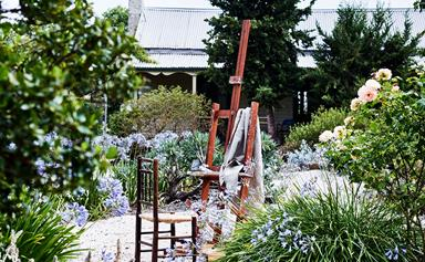 An Edna Walling designed cottage garden in Victoria