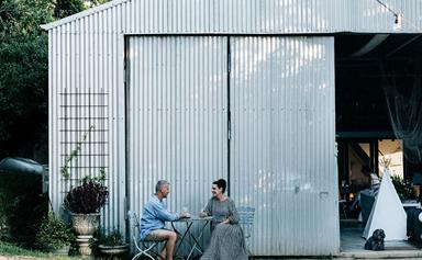 Transforming a shed into a stylish family house