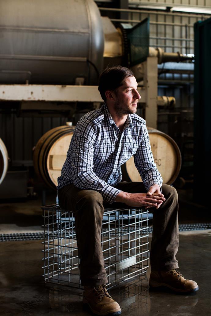 Tumbarumba winemaker Adrian Brayne.