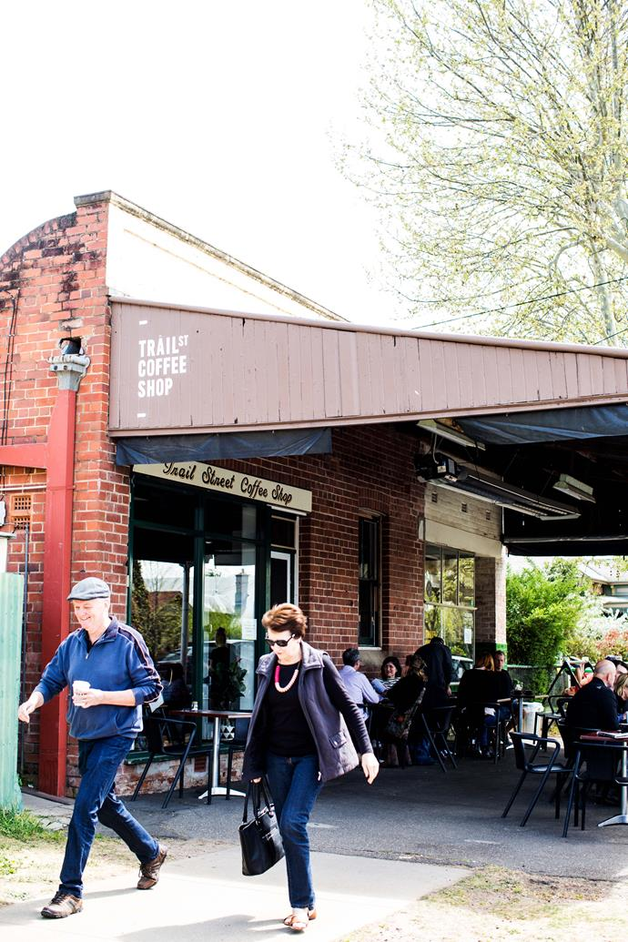 Trail Street Coffee Shop, a top spot for coffee in Wagga Wagga.