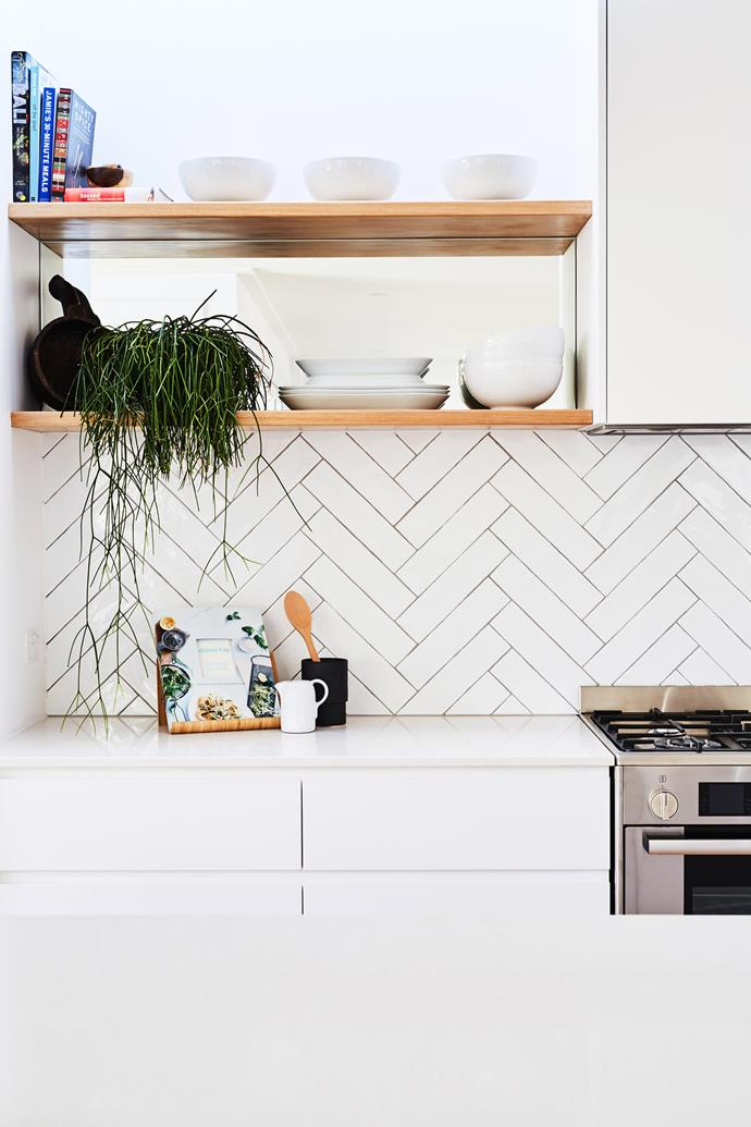 """Using a contrasting grout to your tile will frame each tile and emphasise the pattern."" *Photo:* Lyden Foss / *bauersyndication.com.au*"