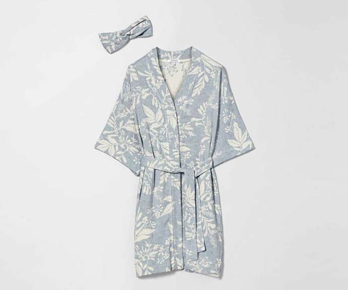 "There's nothing more relaxing than snuggling up in a cosy robe at the end of a long day, so why not pamper mum with this one from Sheridan? We love the floral pattern and cute matching headband. Sheridan Lidsdale womens robe, $199.95, [Sheridan](https://www.sheridan.com.au/|target=""_blank""