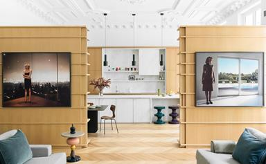 A luxe Paris apartment filled with fine art