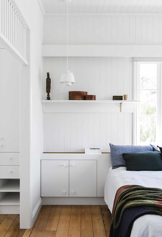 "**Main bedroom** This cosy space is painted [Dulux](https://www.dulux.com.au/|target=""_blank""