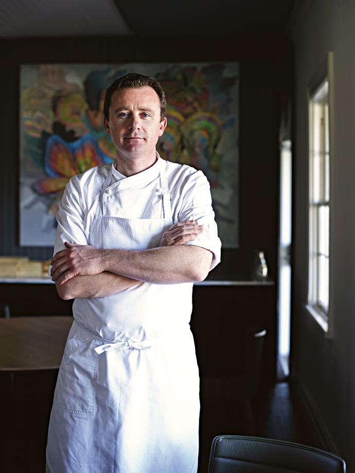 "<P>**DAN HUNTER**<p> <p>*Chef and owner of Brae restaurant*<p> <p>In the cool hinterland of Victoria's Otway ranges, [Brae](https://braerestaurant.com/|target=""_blank""