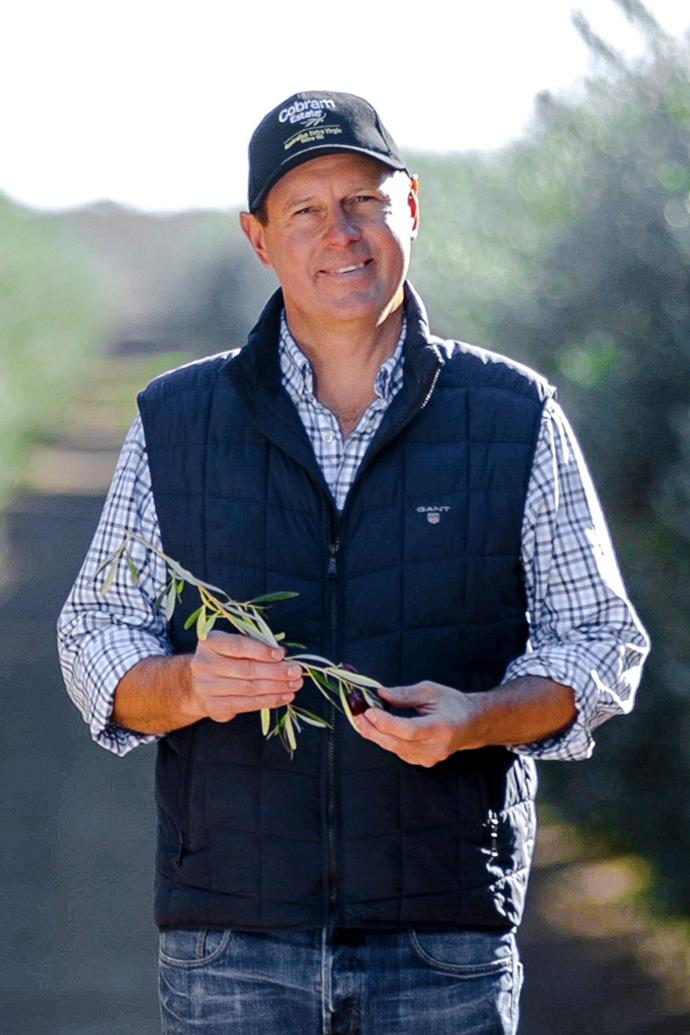 "<p>**ROB MCGAVIN**<P> <p>*Co-Founder and CEO of Boundary Bend limited and Cobram Estate*<p> <p>From humble beginnings, planting their first olive tree in 1998 on the banks of the Murray River in Victoria, Rob McGavin and his business partner Paul Riordan of [Boundary Bend](http://www.boundarybend.com/|target=""_blank""
