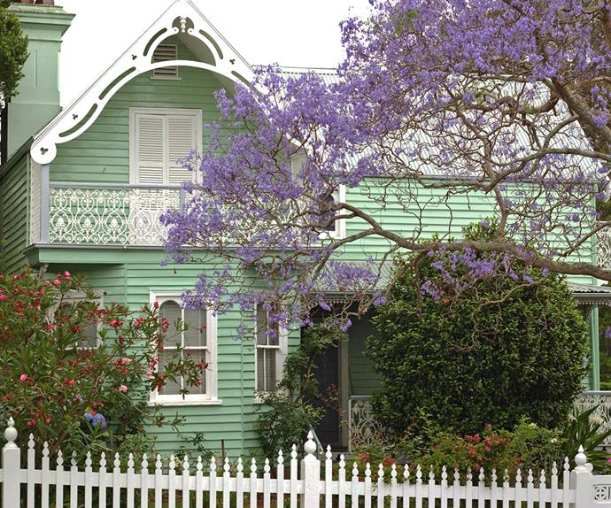 Exterior of Meroogal, a gothic style house in Nowra, NSW