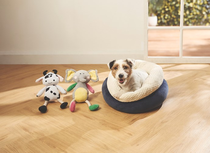 Pet Snuggle Bed, $9.99.
