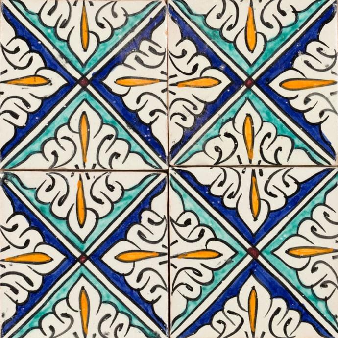 "Diamond Mini Glazed tiles from [Jatana](https://www.pophamdesign.com/productpage/propeller|target=""_blank""|rel=""nofollow"")."