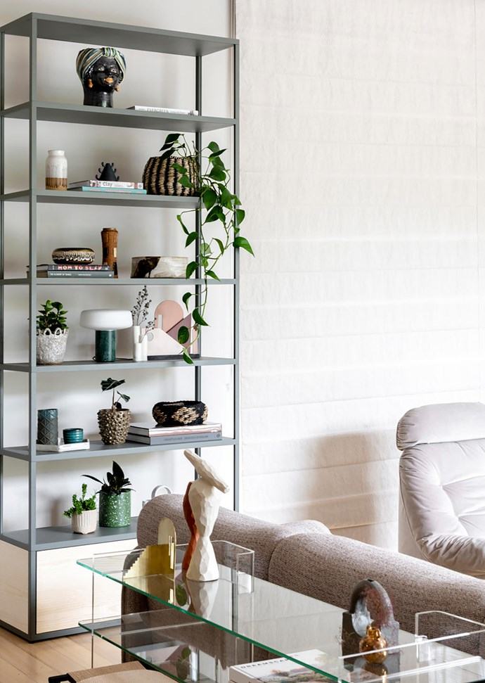 Fogia 'Combiplex' glass and acrylic shelves from Fred International.