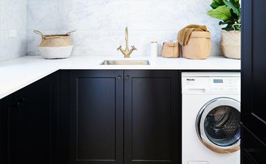 6 ways to make the most of a small laundry room