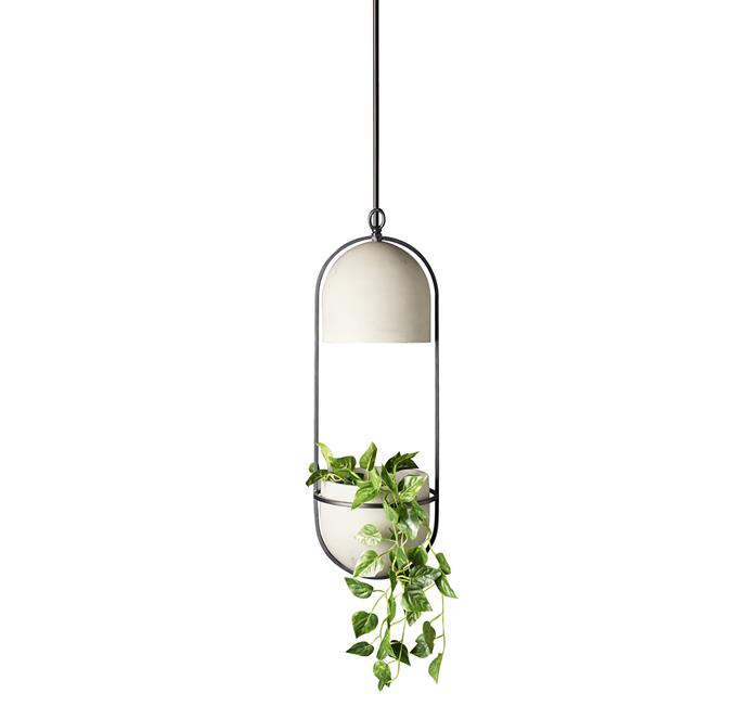"Home Design Pianta Pendant, $135, at [Bunnings](https://www.bunnings.com.au/home-design-pianta-pendant_p7072303|target=""_blank""