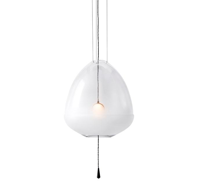 "Medium Limpid Pendant Light by Vantont, $3420, at [Spence & Lyda](https://www.spenceandlyda.com.au/limpid-pendant-lights-vantot.html|target=""_blank""|rel=""nofollow"")"