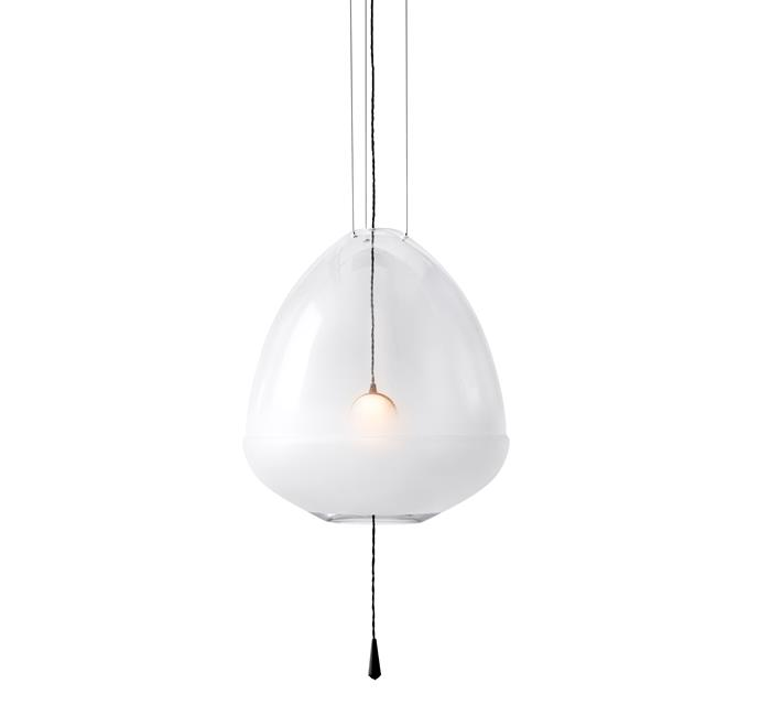 "Medium Limpid Pendant Light by Vantont, $3420, at [Spence & Lyda](https://www.spenceandlyda.com.au/limpid-pendant-lights-vantot.html|target=""_blank""