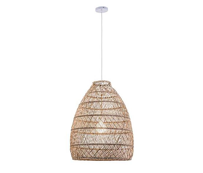 "WONBOYN Pendant Light, Rattan, $399, at [Freedom](https://www.freedom.com.au/lighting/lights/all-lights/23878426/wonboyn-pendant-light-rattan?istcompanyid=3de1deb7-1066-4c5b-8182-e8ceaa5b620e&istfeedid=349346ff-b875-4305-8c09-6b6ee3a043be&istitemid=witplirmq&istbid=tztx&gclid=CjwKCAjw_MnmBRAoEiwAPRRWWx1Zu1vkCPhitlYCLe4gxQ0OluUuJ2X0U7HtKoRHFFs1YpEOeBNUIRoCQmwQAvD_BwE&gclsrc=aw.ds|target=""_blank""