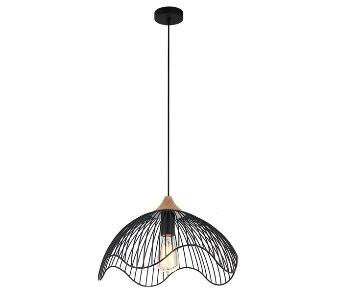 """Spiaggia Pendant Light, $164, at [Temple and Webster](https://www.templeandwebster.com.au/Spiaggia-Pendant-Light-CLAL2439.html