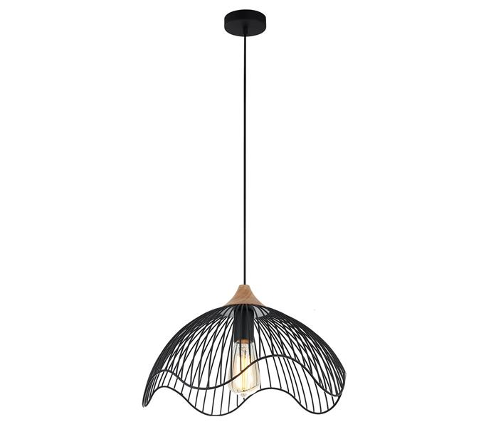 "Spiaggia Pendant Light, $164, at [Temple and Webster](https://www.templeandwebster.com.au/Spiaggia-Pendant-Light-CLAL2439.html|target=""_blank""