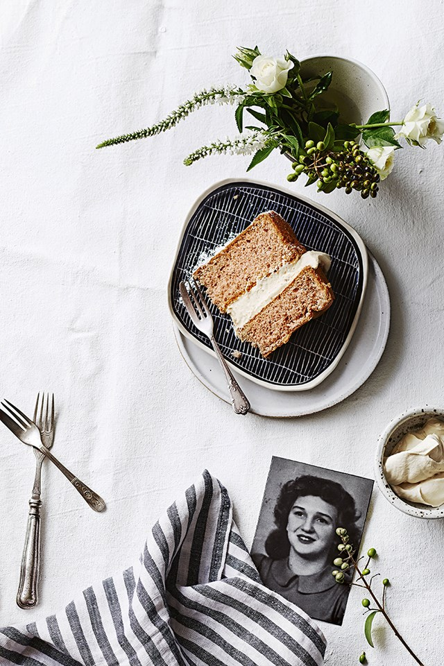 "**[Ginger fluff sponge cake](https://www.homestolove.com.au/heirloom-recipe-ginger-fluff-sponge-cake-12182|target=""_blank"")** Margaret Ivory is famous for her ginger fluff and has baked this classic sponge cake recipe hundreds of times, for occasions ranging from family birthdays and school fetes to sports club functions and to cheer up sick friends. The perfect crowd-pleasing cake for any occasion - high teas included!"