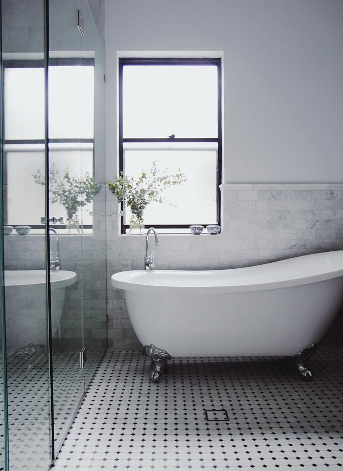Where possible, always incorporate a window into your bathroom design. *Project:* Integriti Projects