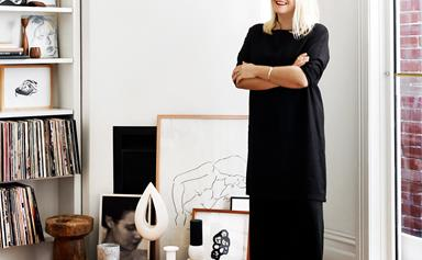 At home with artist Caroline Walls