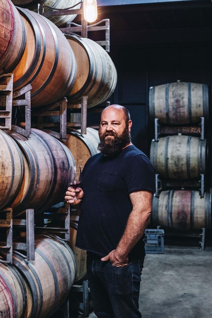Winemaker Ash Lewkowski.