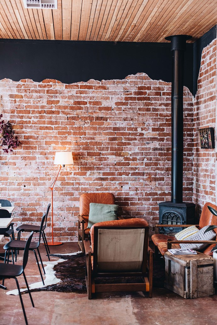 A nook in the popular coffee house.