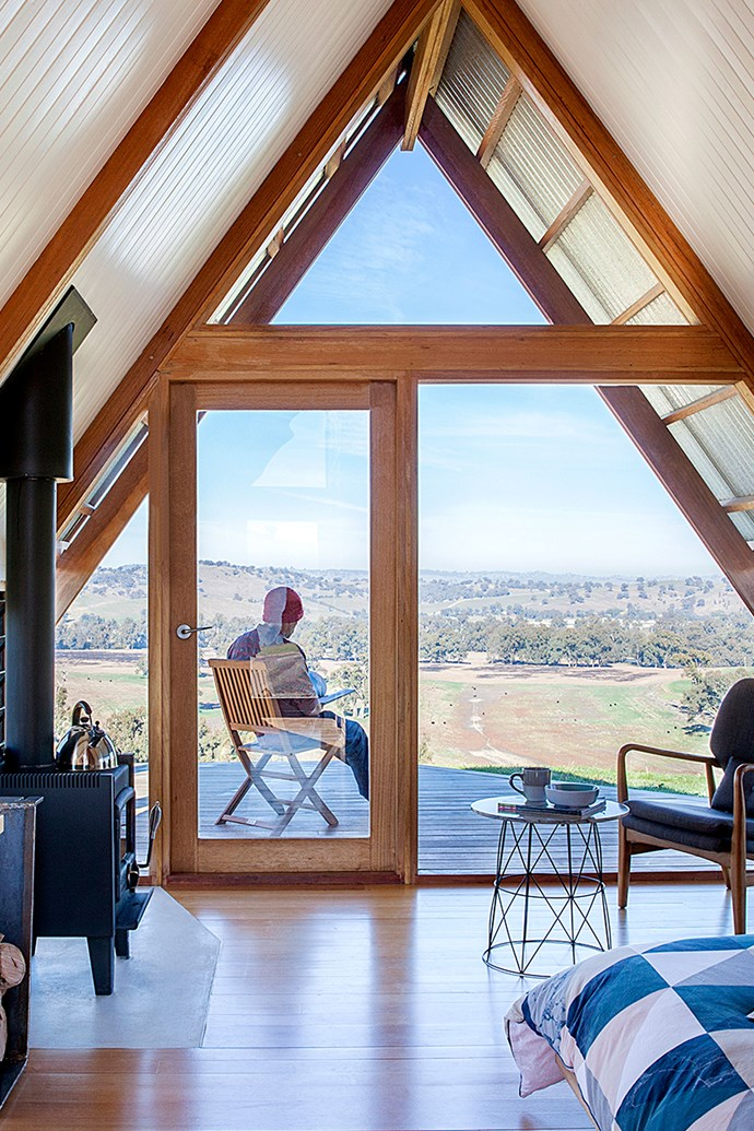 """Kimo Estate backs onto the Murrumbidgee River. From the deck of the Ecohut you can see Kimo Valley and the Murrumbidgee River Flats. *Photo: [Kimo Estate](http://www.kimoestate.com/