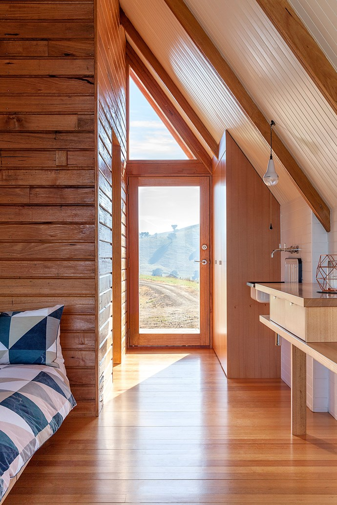 """The open-plan cabin is flooded with natural light. *Photo: [Kimo Estate](http://www.kimoestate.com/