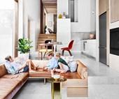 Architect Jeremy Bull gave his Sydney terrace a stunning modern renovation